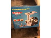 Sausage maker and mince machine