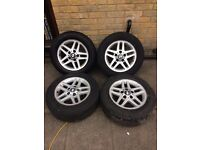 BMW series 3 wheels . All 4 tyres