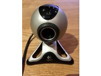 Logitech Quickcam webcam and installation CD's for sale - £10 ono