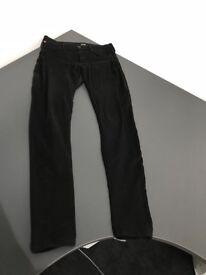 Hudson black skinny jeans size 26