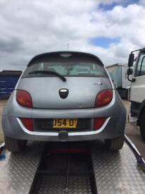 Ford ka Breaking For Spares 1.3 and also ka sport 1.6