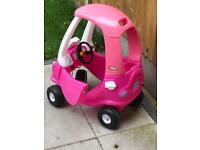 Little tikes car pink