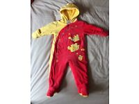 Baby fleece snow suit 6-9 months Disney