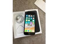 APPLE IPHONE 7 MATT BLACK 128GB UNLOCKED GOOD CONDITION