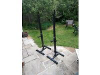 Squat Rack / Bench press support - Free Standing
