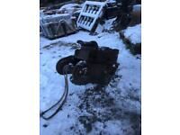Lemac manual quick hitch for 13tonne excavator digger attachment