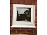 UPVC Window - includes frame, double glazed unit & sill