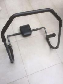 Abdomen trimmer/roller with Headrest