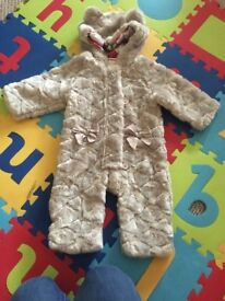 Ted Baker Baby Snow Suit 9-12 months