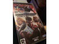 PSP Sega Mega Drive Collection games