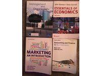 Selection of university books - Finance, Marketing, Accounting, Economics