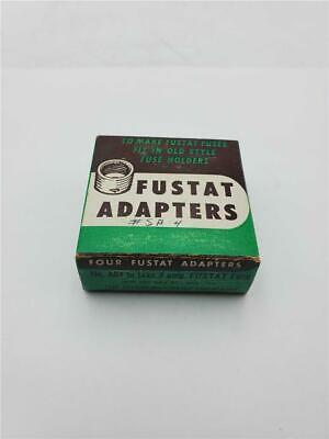 BOX OF 4 FUSTAT ADAPTERS A04 4 AMP