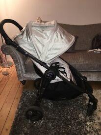 Baby jogger silver versa pushchair pram