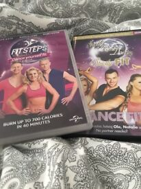 Strictly come dancing fitness DVDs