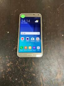 Samsung s5 neo 16gb unlocked in gold condition is excellent