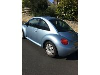 VW Beetle 1.6 Petrol 2004 / 107,000 miles