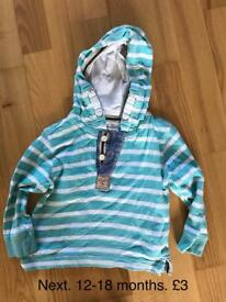 Boys 12-18 months clothes