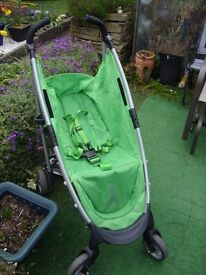 Cosatto buggy in lime green