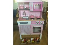 Kidkraft home cooking wooden kitchen