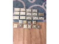 Joblot 24 piece brass sockets