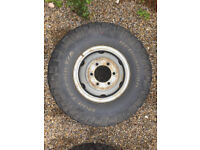 "IVECO Daily 4x4 5.5"" split rims, inner tubes and 255/55 BFG MT tyres"