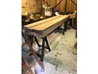 Reclaimed Pitch Pine Church Pew Seat/Bench Timbe
