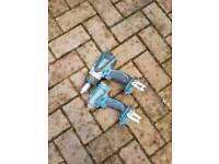 Makita comby drill and impact driver