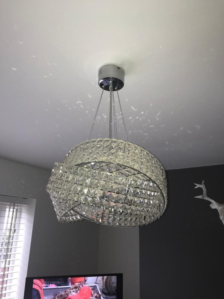Next Venetian 5 Light Chandelier Rrp 220