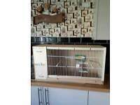 Budge or small bird breeding cage