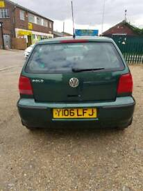 Volkswagen Polo 1.4 petrol Green *FRESH MOT*