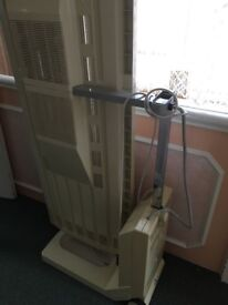 A Phillips sun bed, not a modern model but still 100% working fine goes over the bed