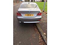 BMW 520D 2006 SE NEEDS WORK HAS MOT & TAX FSH E60