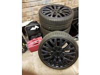 Ford Focus St wheels, RS spoiler, Loder diffuser and front grill/mesh