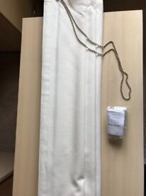 Roman Blind in Quintessence Linen with standard lining
