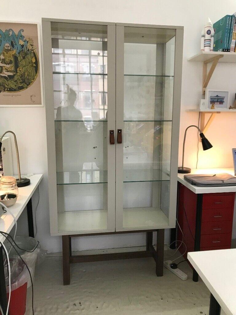 Ikea Stockholm Glass Display Cabinet In Hackney London Gumtree