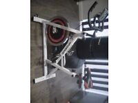 Confidence Pro Indoor Cycling Exercise Bike With 13kg Flywheel & Pulse Sensor used a few times