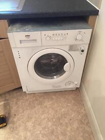 Fully integrated washer dryer