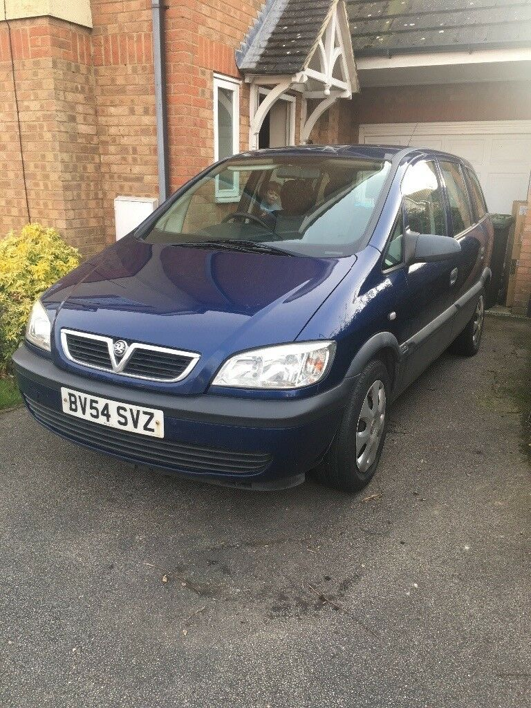 ** SOLD** Vauxhall Zafira, 6 months MOT, good runner, price due to quick sale