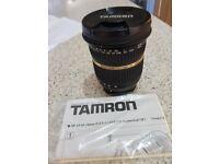Tamron sport af10 - 24mm lens