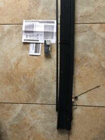 Jet Black PVC Venetian Blind