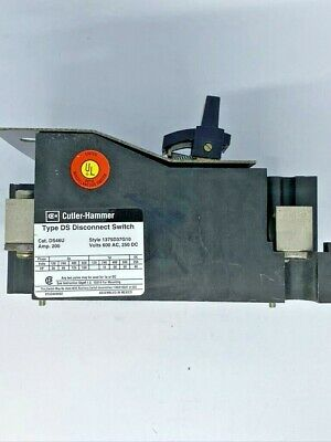 Cutler Hammer Ds46u 200 Amp 600 Volt 3 Non Fused Disconnect Switch - Tested