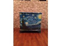 "Van Gogh ""Starry Night"" decoupage chest of drawers"