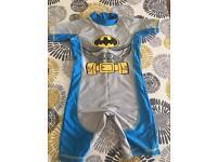 Next Batman UV onesie age 4-5