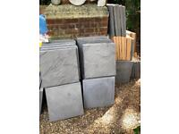 Paving slabs - new seconds