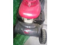 Honda mower with roller