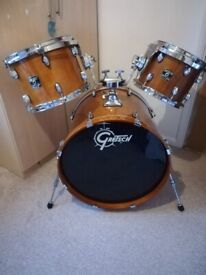 Grestch Catalina Maple Drum Kit, Cymbals, & Extras