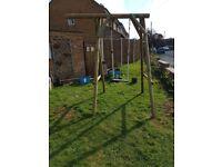 Wooden / Timber Garden Swing