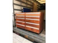Storage Unit Wood Multi Draws