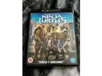 X2 bluray films: Teenage Ninja Turtles bluray & Teenage Ninja Turtles - Out of the Shadows