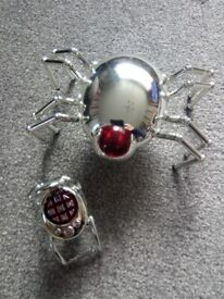 Remote control silver spider